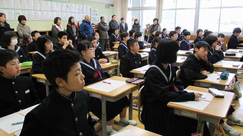 高瀬中学校で評価委員会が: 新二...